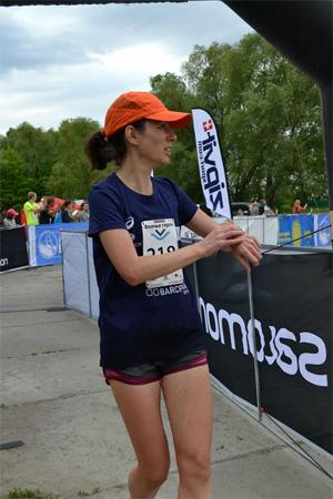 Внезапно финишировала и думаю, где потерялся еще километр. Фото: Ольга Рассоха