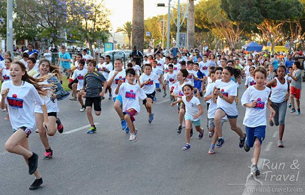 Открытый детский забег на 2 км
