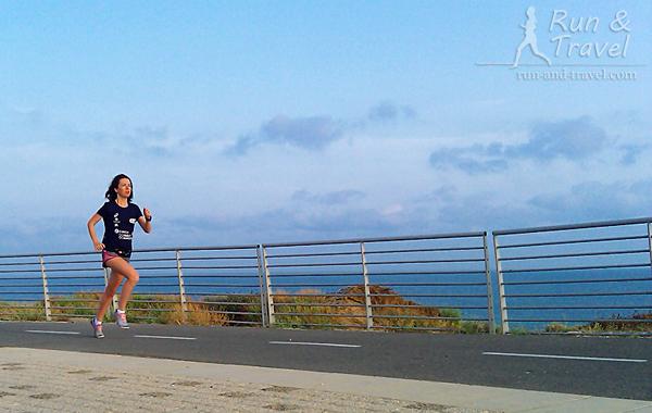 Прибрежная дорожка для бегунов и велосипедистов в Ашкелоне, Израиль