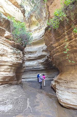 Небольшая разминка с элементами скалолазания в местном каньоне