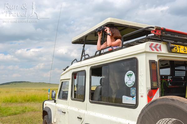 Крыша поднимается – удобно наблюдать за животными и фотографировать