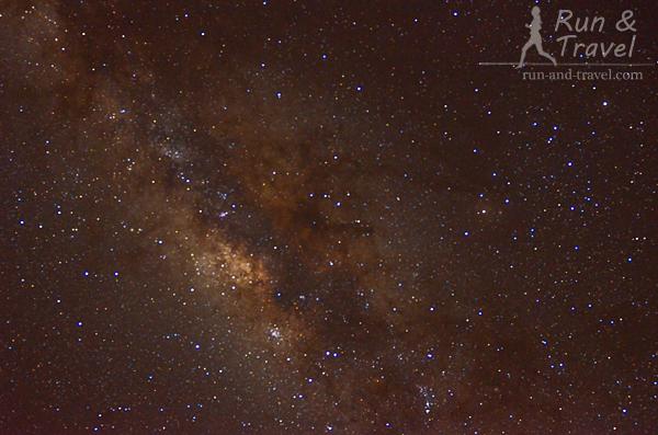 Африканское звездное небо