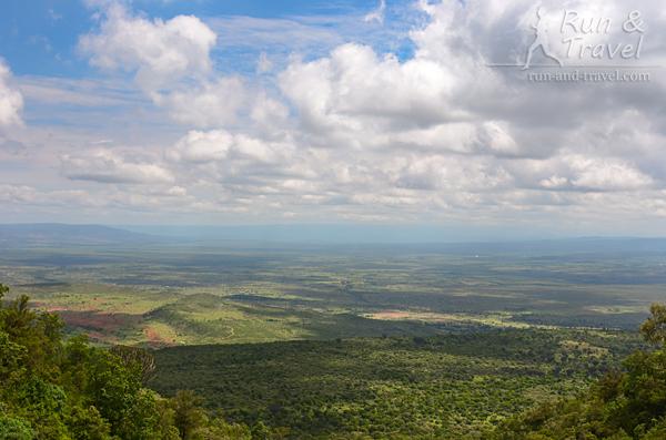 Восточно-Африканская рифтовая долина – разлом, образовавшийся в результате геологических сдвигов