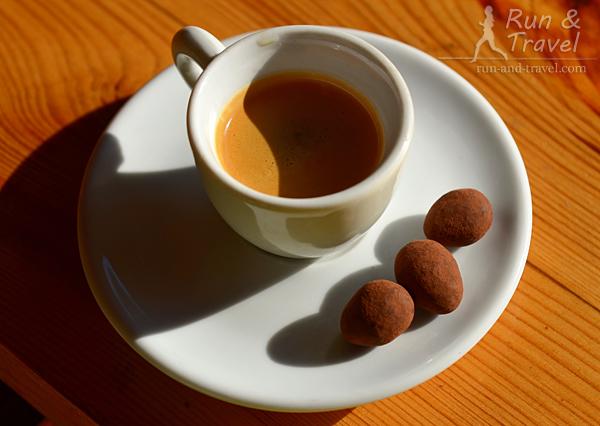 Утренний кофе + конфетки