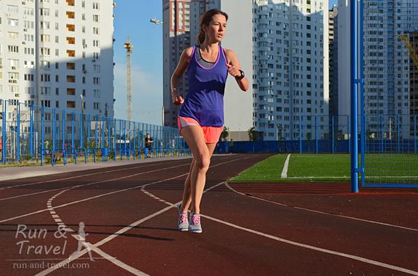 Стадионы для бега в Киеве: гимназия «Киевская Русь»