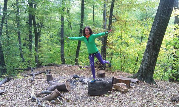 И, конечно, любимый Голосеевский лес (мы не заблудились, а только чуть-чуть потеряли направление)
