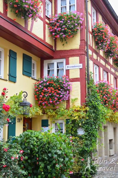 Просто домики в Ротенбурге