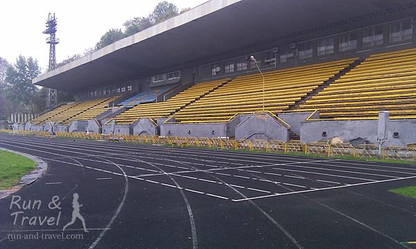 Дорожки стадиона «Спартак»