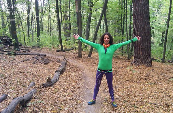И немного лесного трейла
