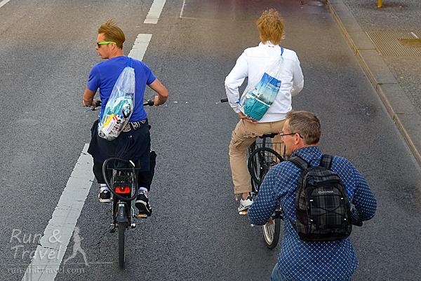 Велосипедисты-марафонцы