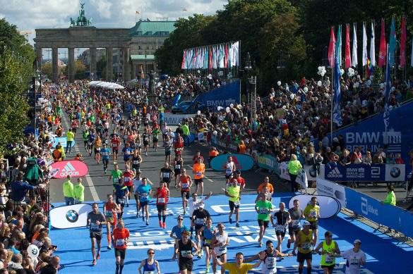 От Бранденбургских ворот до финишной арки – около 200 метров. Фото: официальное