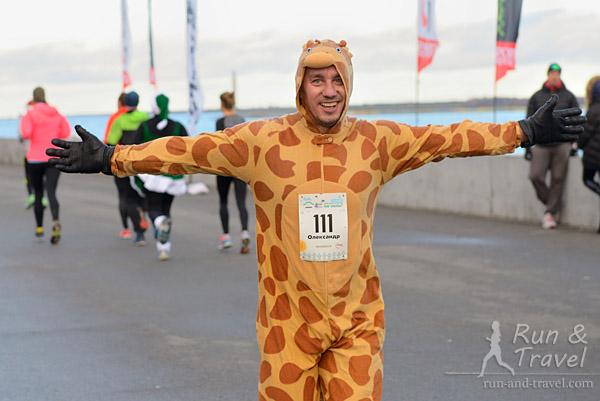 Дружелюбный Жираф