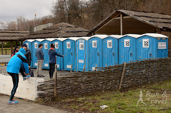 Даже био-туалетов в этом году поставили в два раза больше
