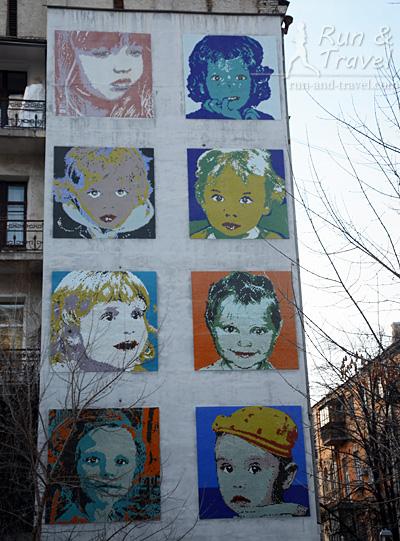 Мозаика «Дети» на Стретенской