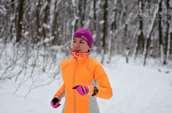 Зимние пробежки – хорошая профилактика простуд