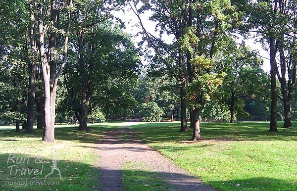 В парке Rehberge