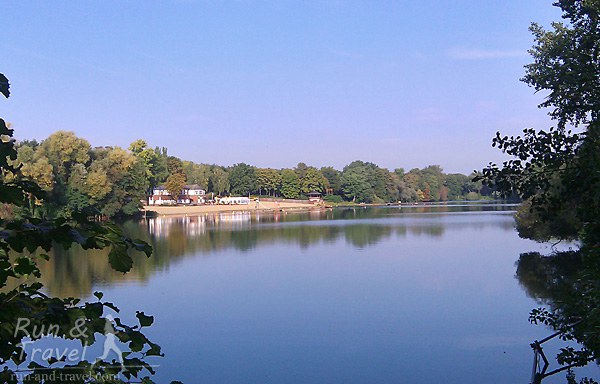 Озеро Der Plotzensee
