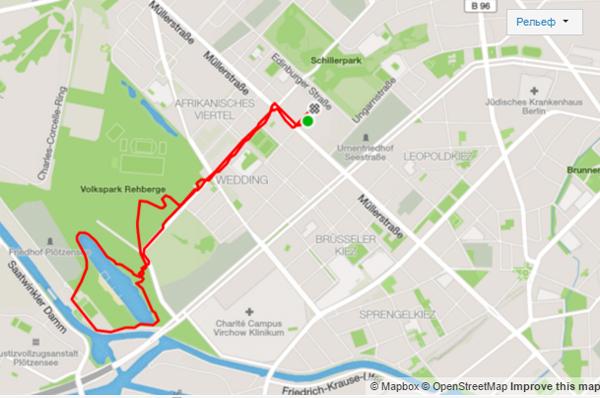 Маршрут 6 км