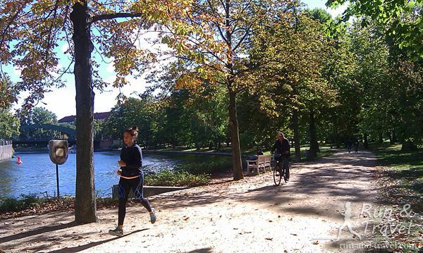В парке дворца Шарлоттенбург