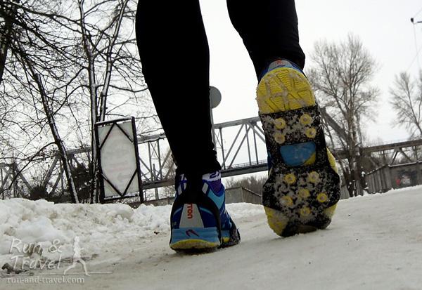Разбавляю восторги от бега зимой