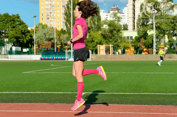 В базовую фазу беговые упражнения раз в неделю, дальше – раз в неделю-две, в самые тяжелые недели в конце фазы 3 и в последние недели перед марафоном – не делаю