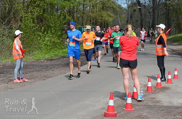 Бегущие десятку возвращаются, 3 км до финиша