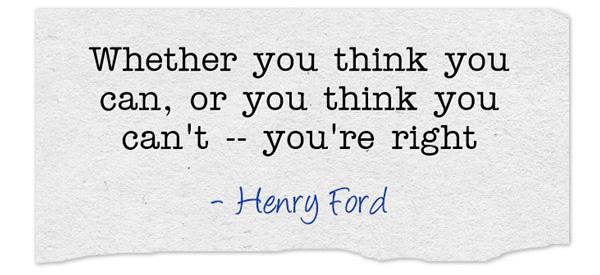 """""""Думаете ли вы, что можете, или думаете, что вы не можете - вы правы"""" - Генри Форд явно был в теме бега на длинные дистанции :)"""