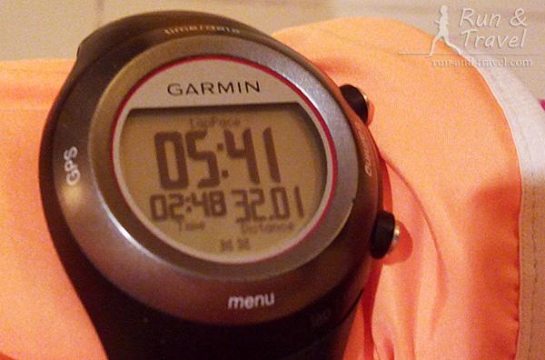 Из обидного: половинка за 1:45 в рамках тренировки с 24 км в марафонском темпе. Заколдованная цифра-2015