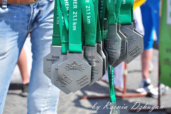 Медали. Фото: Ксения Джуган