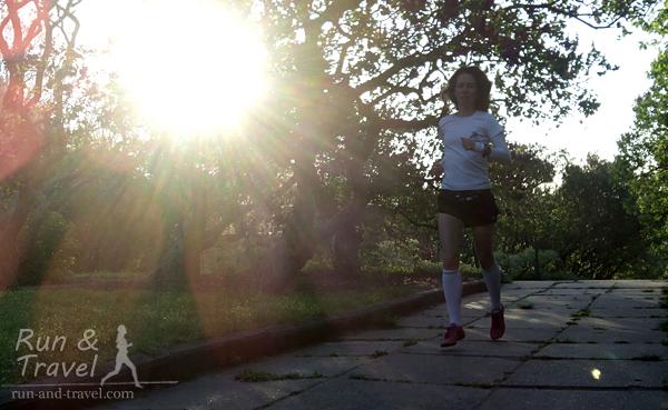 Утренний бег натощак эффективен не всегда