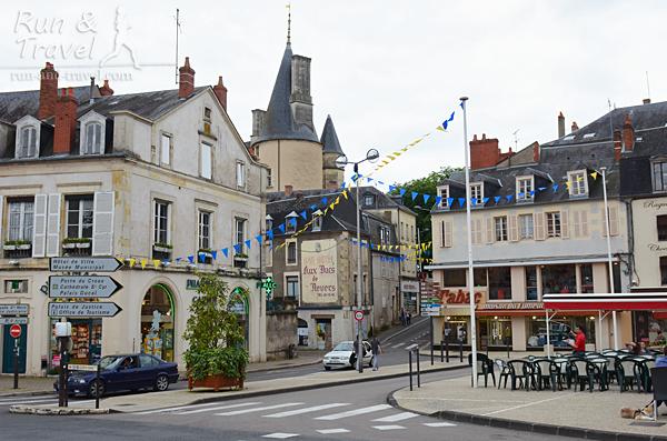 Одна из площадей в Nevers