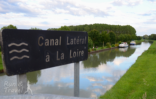 Основной путь пролегал по Canal Lateral a la Loire