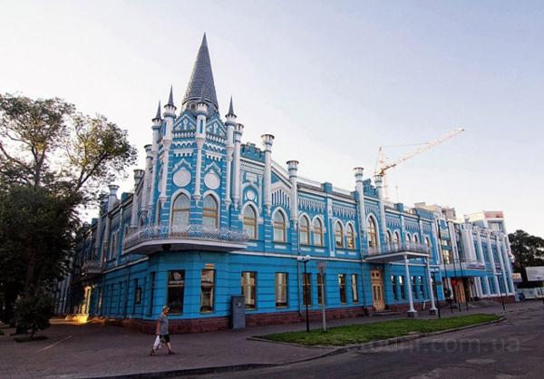 Бывшая гостиница «Славянская» в Черкассах (конец 19-го века). Фото: fotodni.com.ua