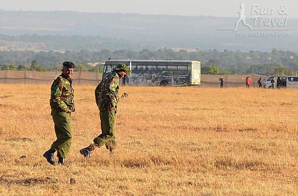 Военные готовятся охранять нас на трассе