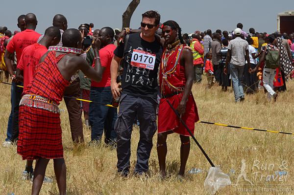 Как же без фоточки с масаем
