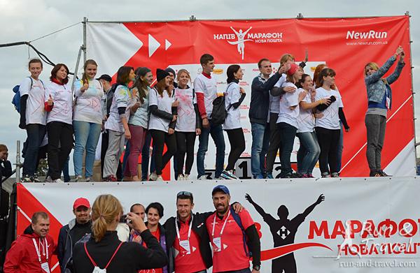Очень понравилось, что в конце мероприятия волонтеров отметили, поблагодарили и пригласили на сцену
