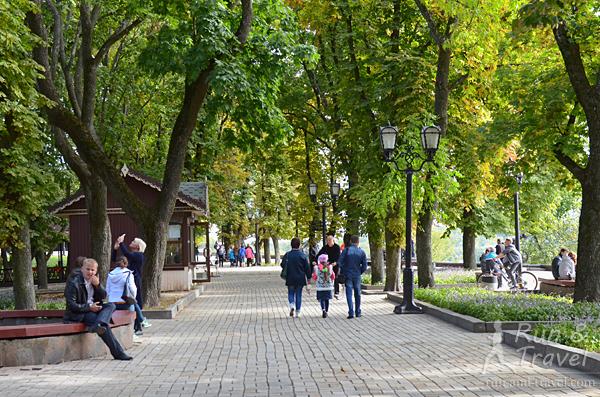 В парке на Детинце