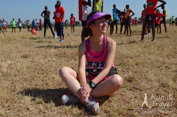 Мы с Merrell Bare Access в ожидании старта Masai Mara Marathon