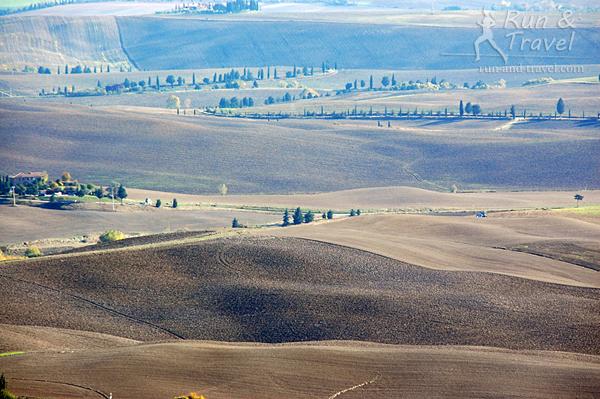 Осенние цвета и фактуры Тосканы