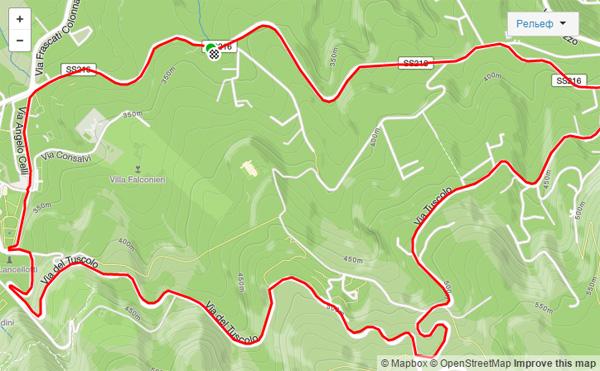 Круговой маршрут – достижение для топографических кретинов